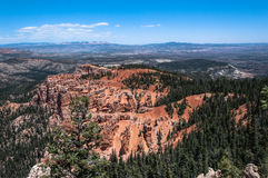 Bryce Canyon National Park, Utah. Panoramic view of the Bryce Canyon National Park, Utah Royalty Free Stock Photography
