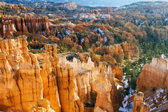 Bryce Canyon National Park in Utah. Sunrise at Bryce Canyon National Park in Utah Stock Photos