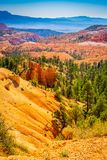 The Bryce Canyon National Park, Utah, United States. The Bryce Canyon National Park Utah United States Stock Photos