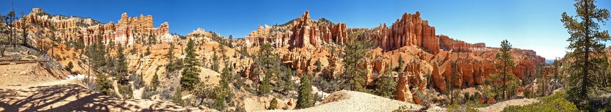 The Bryce Canyon National Park Utah, United States. The Bryce Canyon National Park, Utah, United States Royalty Free Stock Photos