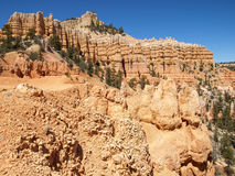 The Bryce Canyon National Park Utah, United States. Royalty Free Stock Images