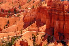 The Bryce Canyon National Park, Utah, United States Royalty Free Stock Photography