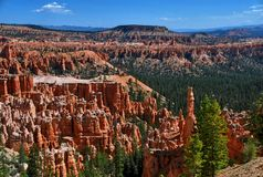 Bryce Canyon National Park, Utah, USA stockbilder
