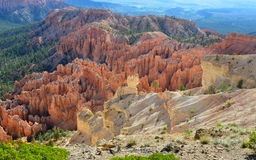 Bryce canyon national park, utah, usa.colored eroded hoodoos Stock Image