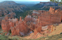Bryce canyon national park, utah, usa.colored eroded hoodoos Royalty Free Stock Photos