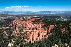 Bryce Canyon National Park, Utah. View of Bryce Canyon National Park from Ponderosa Point, Utah Royalty Free Stock Image