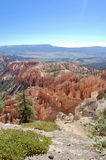 Bryce Canyon National Park Utah. Wide picture of hoodoos at Bryce Canyon National Park in Utah Stock Image