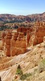 Bryce Canyon National Park Utah. Wide picture of hoodoos at Bryce Canyon National Park in Utah stock images