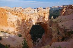 Bryce Canyon National Park. View at the Bryce Canyon National Park Stock Photos