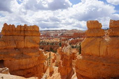 Bryce Canyon National Park. View of Bryce Canyon National Park Stock Photos