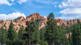 Bryce Canyon National Park. View of the entrance to the Bryce Canyon National Park Stock Images