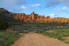 Bryce Canyon National Park. View at the entrance to the Bryce Canyon National Park Stock Images