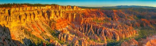 Bryce Canyon National Park, vue panoramique des formations de roche photos libres de droits