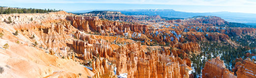 Bryce Canyon National Park in Winter stock photos