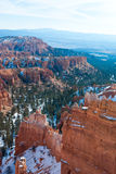 Bryce Canyon National Park in Winter Royalty Free Stock Photography