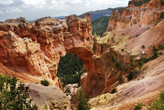 Bryce Canyon Natural Arch. A Natural Arch in Bryce Canyon National Park, Utah, United States Royalty Free Stock Photography