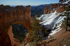Bryce Canyon Natural Bridge, Utah, Etats-Unis Image libre de droits