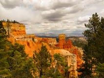 Bryce Canyon Natuurlijke Wonder Stock Foto