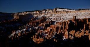 Free Bryce Canyon Night Panoramic Royalty Free Stock Image - 40422636