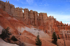 Hiking in Bryce Canyon NP Stock Photo
