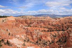 Bryce Canyon National Park overview Royalty Free Stock Photos