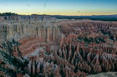 Bryce Canyon NP in Amerika stockbilder