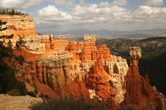 Bryce canyon NP, Utah. View of bryce canyon panorama Stock Photography