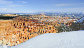 bryce canyon np zimy. Zdjęcia Royalty Free