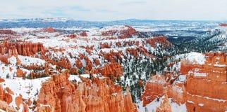 Bryce canyon panorama Stock Photography