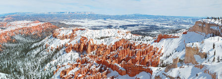 Bryce canyon panorama Stock Photos