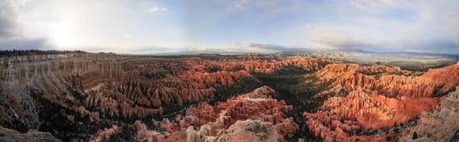 Bryce Canyon Panorama Stock Afbeelding
