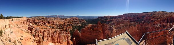 Bryce Canyon. Panorama 2014 Royalty Free Stock Photo