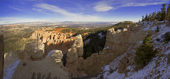Bryce Canyon Panoramic View Royalty Free Stock Images