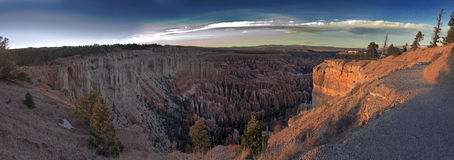 Bryce Canyon Panoramic View Stock Photo