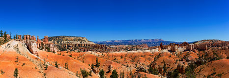 Bryce Canyon. This panorana was taken in Bryce Canyon Stock Photography