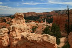 Bryce Canyon Queen's Garden Trail 2 Royalty Free Stock Images