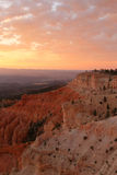 Bryce Canyon Rim Stockbilder