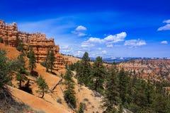 Bryce Canyon Rim Trail Royalty Free Stock Photos