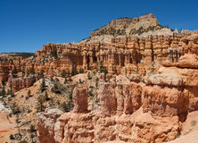 Bryce Canyon scenery Royalty Free Stock Photography