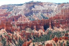 Bryce Canyon Sculptures. Look what erosion and wind can do! Bryce Canyon is a special Utah place and a hiker's dream Stock Images