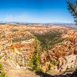 Bryce Canyon - sikt från Bryce punkt Arkivfoton