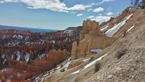 Bryce Canyon sikt på våren Arkivfoton