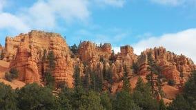 Bryce Canyon sikt på våren Royaltyfri Foto