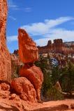 Bryce Canyon Sphinx, Utah meridional, monolito rojo de la roca Foto de archivo libre de regalías