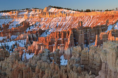 Bryce Canyon Sunrise Royalty Free Stock Photography