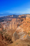 Bryce Canyon Sunrise in de Ochtend Stock Foto