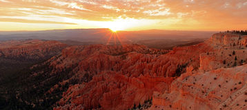 Bryce Canyon Sunrise Stock Image