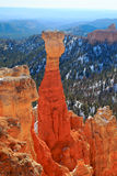 Bryce Canyon at sunset Stock Photos