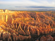 Bryce Canyon at Sunset. Utah royalty free stock photos