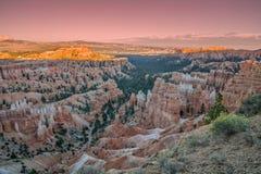 Bryce Canyon Sunset Stock Photography